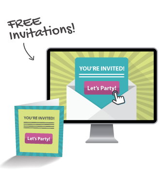 Branded electronic invitations | powered by YAY-List | yay-list.com
