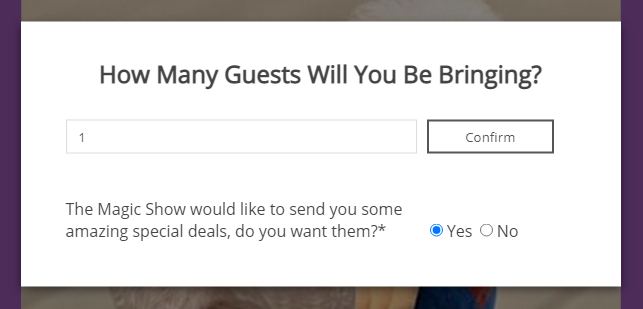 Collect Leads from your client's guestlist!